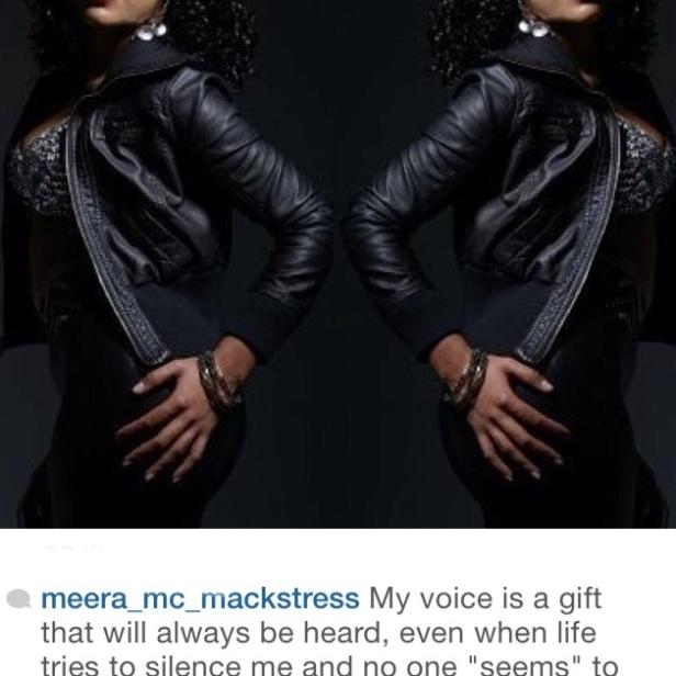 """Eva """"Meera MC Mackstress"""" Santiago"""